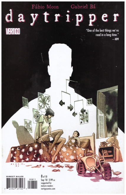 Daytripper #8 Sep 10 from Vertigo Comics