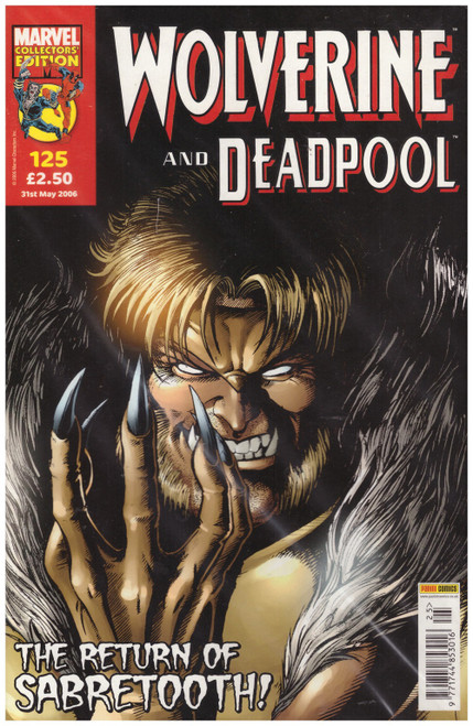 Wolverine And Deadpool #125 from Marvel/Panini Comics UK