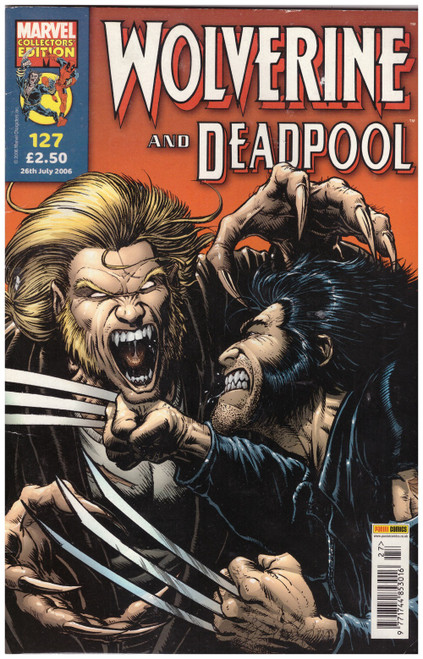 Wolverine And Deadpool #127 from Marvel/Panini Comics UK