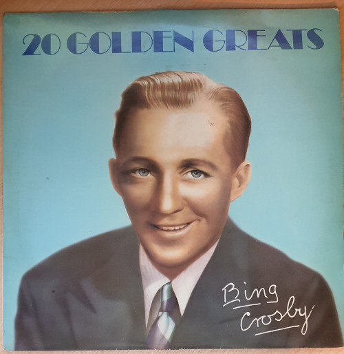 20 Golden Greats by Bing Crosby from MCA Records (MCTV 3)