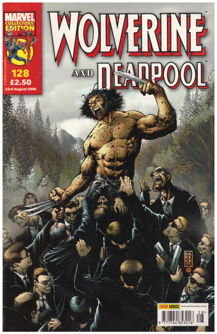 Wolverine And Deadpool #128 from Marvel/Panini Comics UK