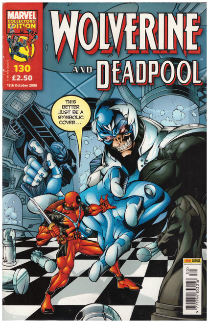 Wolverine And Deadpool #130 from Marvel/Panini Comics UK