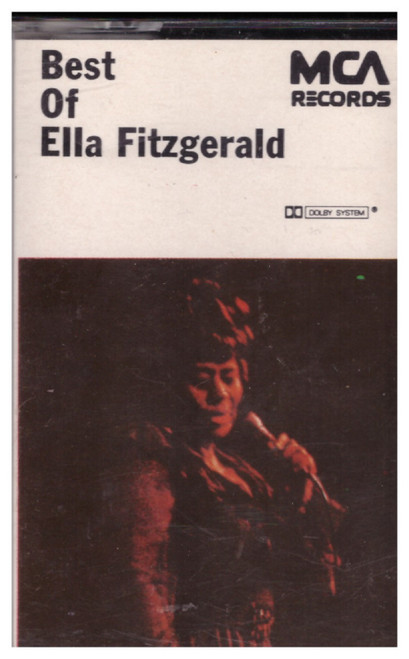 Best Of Ella Fitzgerald from MCA Records on Cassette (MCLC 1611)