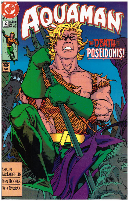 Aquaman #2 Jan 92 from DC Comics