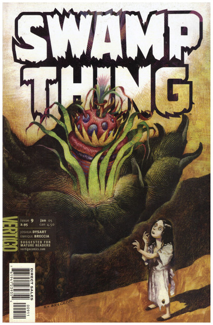 Swamp Thing #9 Jan 05 from Vertigo Comics