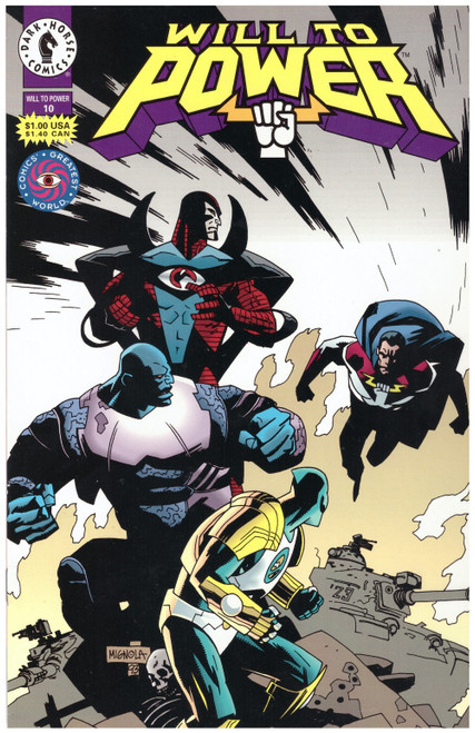 Will To Power #10 Aug 94 from Dark Horse Comics