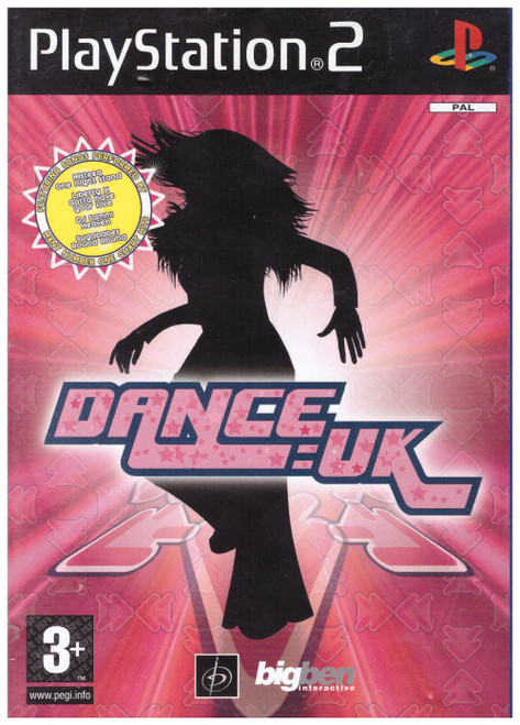 Dance: UK PAL for Sony Playstation 2/PS2 from Big Ben Interactive (SLES 51991)