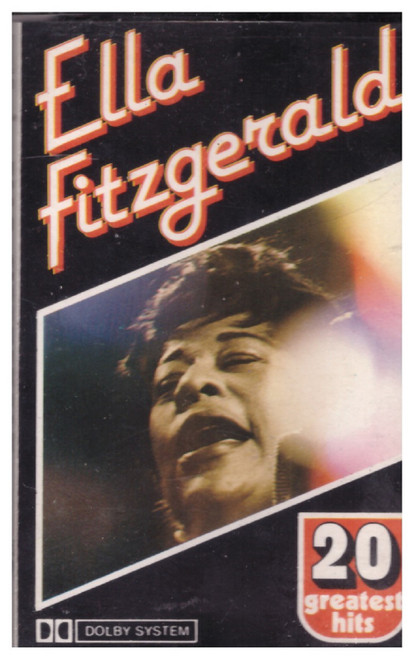 20 Greatest Hits by Ella Fitzgerald from Lotus on Cassette (LCS 14.015)