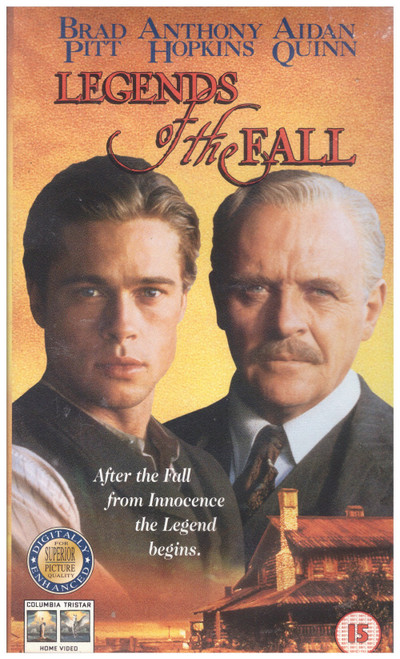 Legends Of The Fall VHS from Columbia Tristar Home Video (CVR 31588)