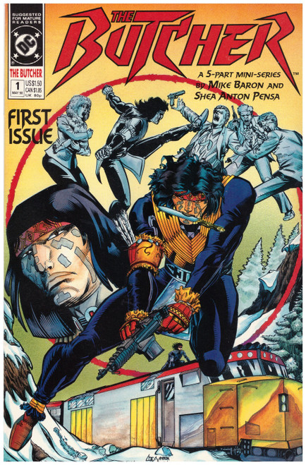 The Butcher #1 May 90 from DC Comics