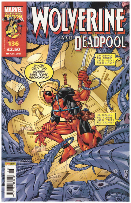 Wolverine And Deadpool #136 from Marvel/Panini Comics UK
