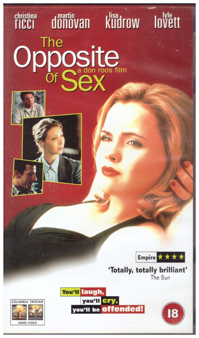 The Opposite Of Sex VHS from Columbia Tristar Home Video (CVR 76866)