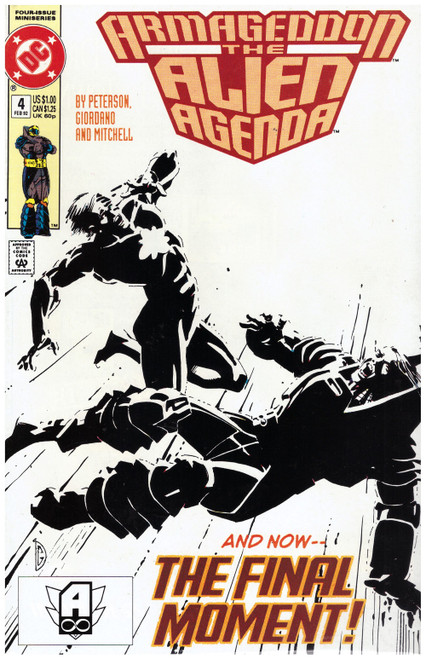 Armageddon: The Alien Agenda #4 Feb 92 from DC Comics