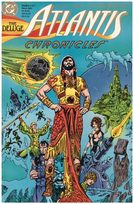 Atlantis Chronicles #1 Mar 90 from DC Comics