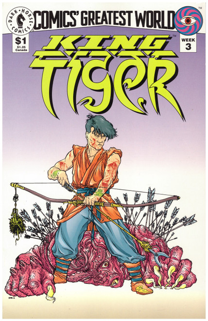 Comics' Greatest World: King Tiger Week 3 Sep 93 from Dark Horse Comics