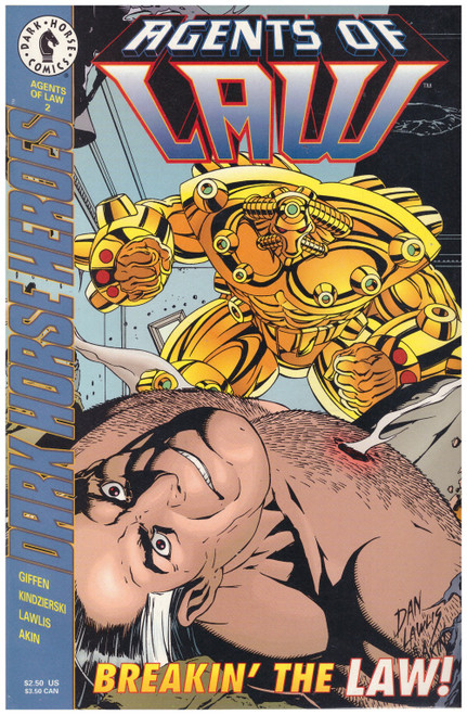 Agents Of Law #2 Apr 95 from Dark Horse Comics