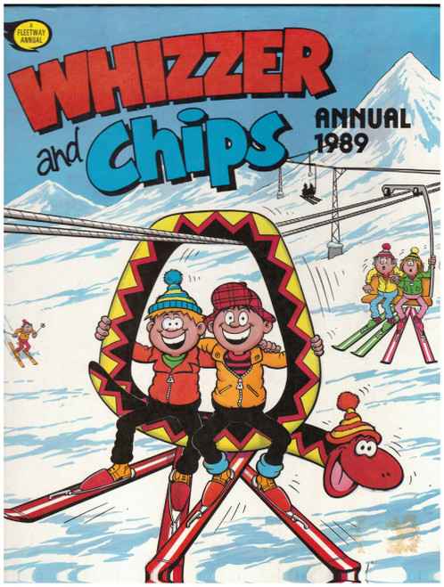 Whizzer And Chips Annual 1989 from Fleetway Publications (ISBN 1-85386-010-7)