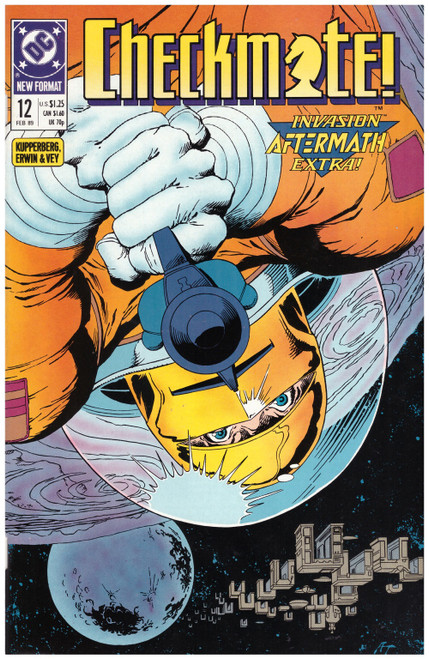 Checkmate #12 Feb 89 from DC Comics
