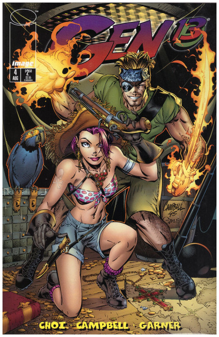 Gen 13 #4 Aug 95 from Image Comics
