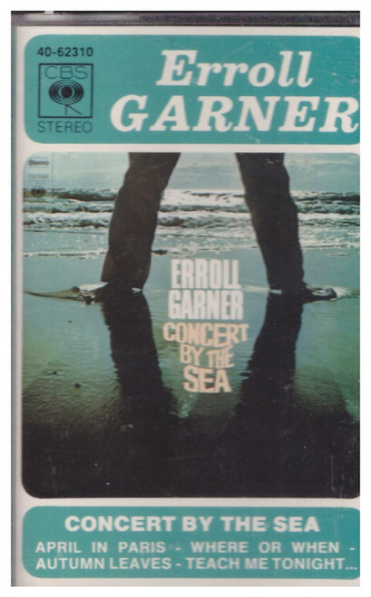 Concert By The Sea by Erroll Garner from CBS on Cassette (40-62310)