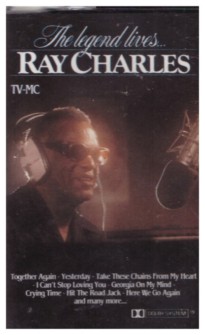 The Legend Lives...Ray Charles from Arcade/Trent (ADEHC 801)