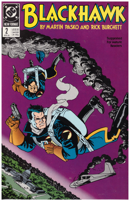 Blackhawk #2 Apr 89 from DC Comics