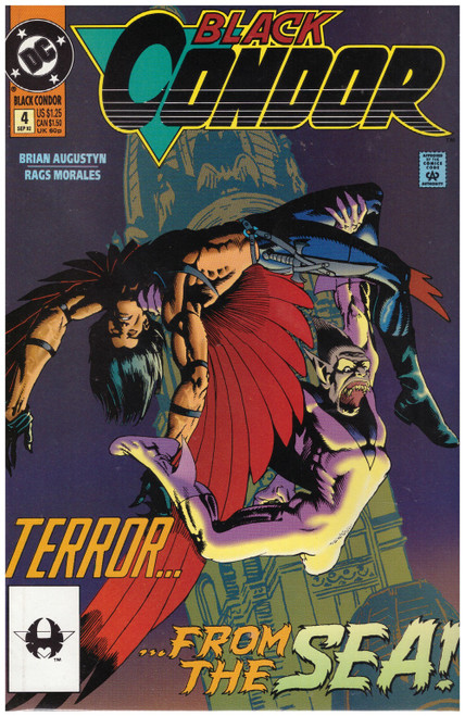 Black Condor #4 Sep 92 from DC Comics