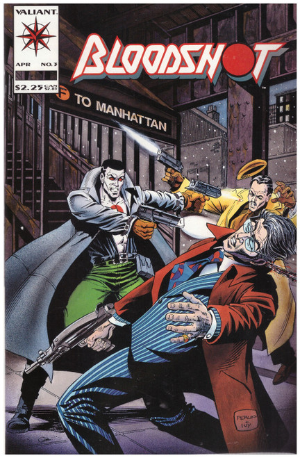 Bloodshot #3 Apr 92 from Valiant