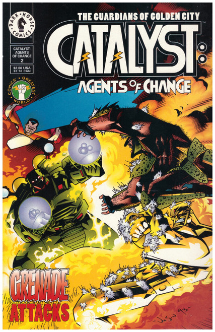 Catalyst: Agents Of Change #2 Mar 94 from Dark Horse Comics