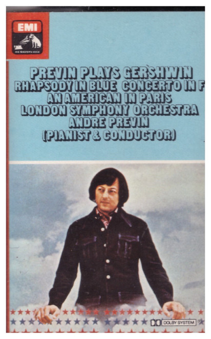 Andre Previn Plays Gershwin from EMI on Cassette (TC-ASD 2754)