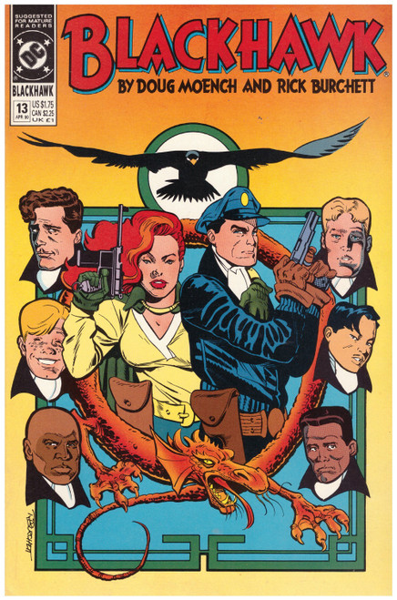 Blackhawk #13 Apr 90 from DC Comics