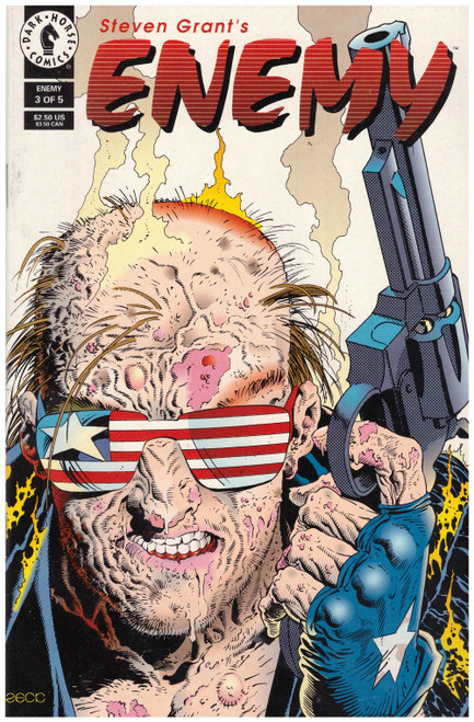 Enemy #3 July 1994 from Dark Horse Comics