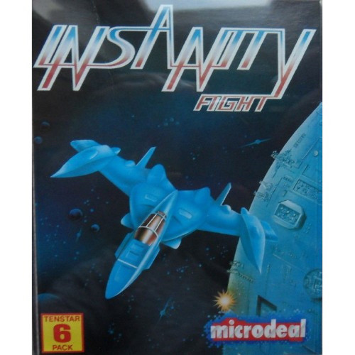 Insanity Flight for Commodore Amiga from Microdeal