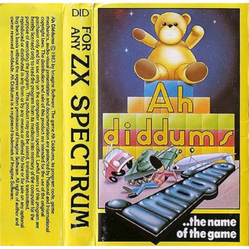 Ah Diddums for ZX Spectrum from Imagine