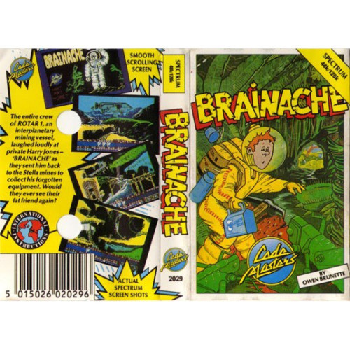 Brainache for ZX Spectrum from CodeMasters
