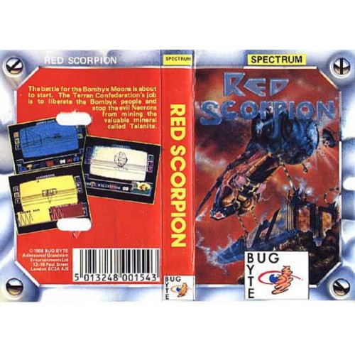Red Scorpion for ZX Spectrum from Bug Byte