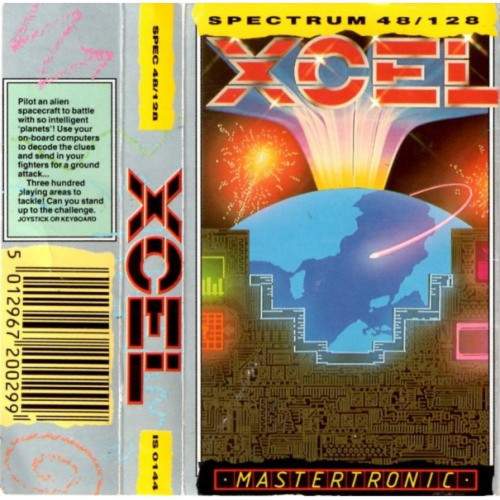 Xcel for ZX Spectrum from Mastertronic