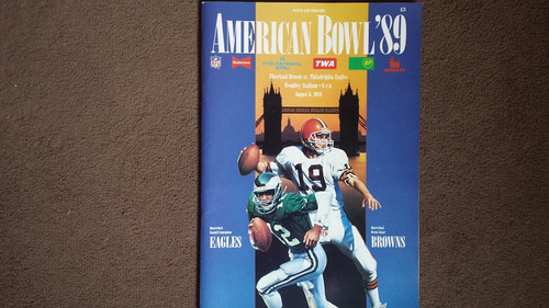 American Bowl '89 Official Programme