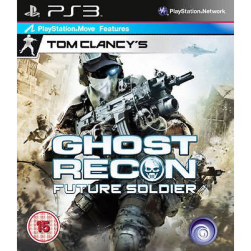 Ghost Recon Future Soldier for Sony Playstation 3 from Ubisoft (BLES 00924)