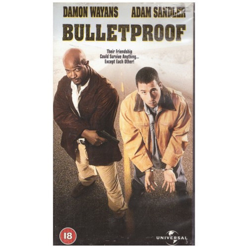 Bulletproof VHS from 4 Front Video/Universal (044 4163)