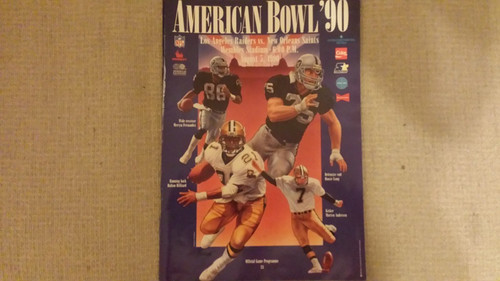 American Bowl '90 Official Programme