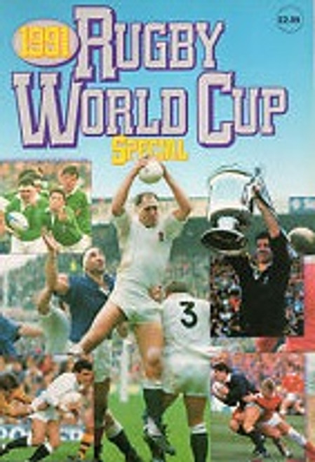 1991 Rugby World Cup Special Book by Grandreams