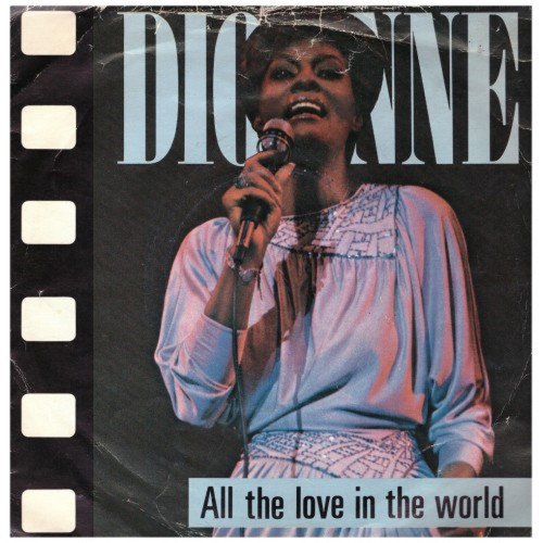 "7"" 45RPM All The Love In The World/It Makes No Difference by Dionne Warwick from Arista (ARIST 507)"
