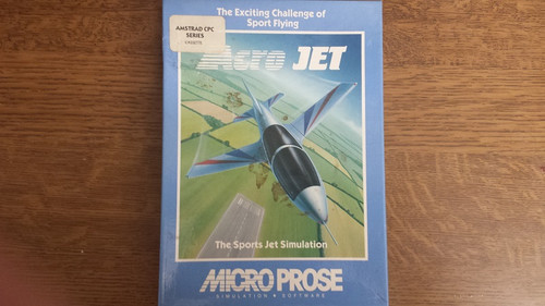 Acrojet for Amstrad CPC by Microprose on Tape