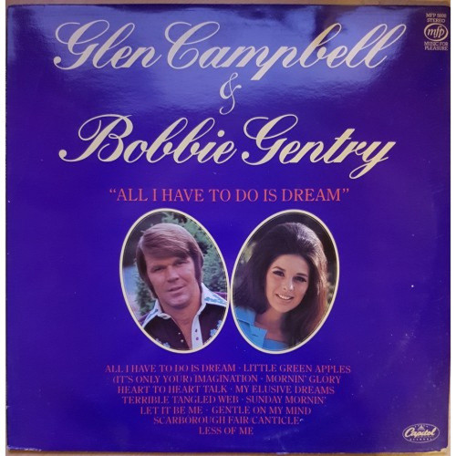 All I Have To Do Is Dream by Glen Campbell & Bobbie Gentry from Music For Pleasure (MFP 5600)