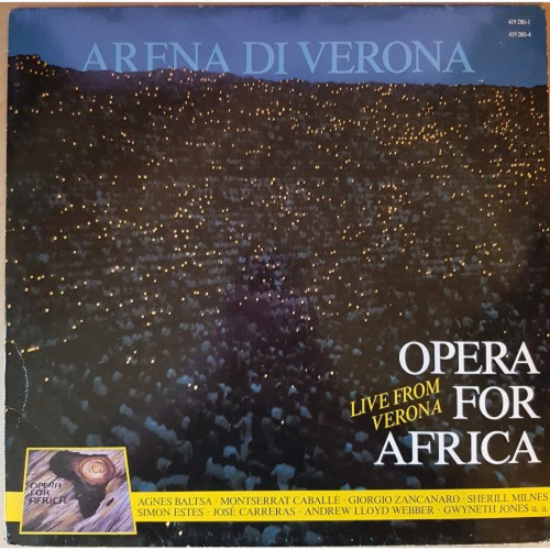 Arena Di Verona: Opera For Africa Live From Verona from Austro Mechana (419 280-1)