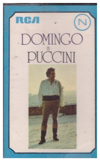 Domingo A Puccini from RCA on Cassette (TRK1 7028)