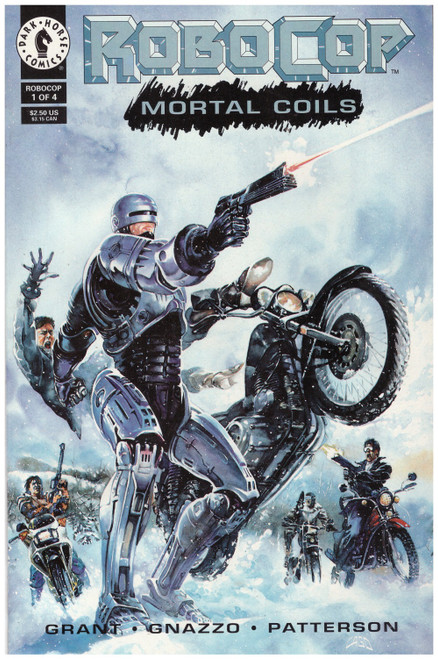 Robocop: Mortal Coils #1 Sep 93 from Dark Horse Comics