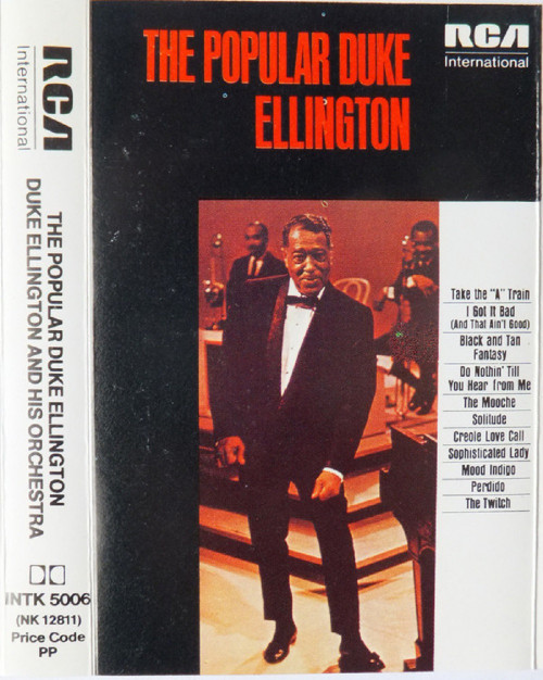 The Popular Duke Ellington from RCA International on Cassette (INTK 5006)