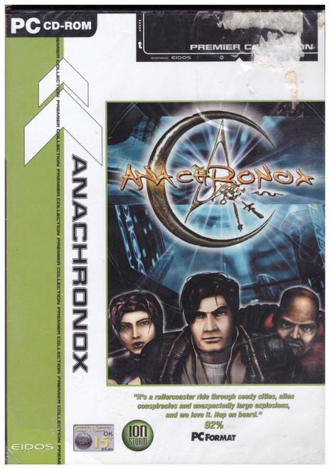 Anachronox for PC from Eidos